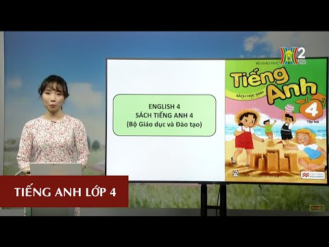 MÔN TIẾNG ANH - LỚP 4  UNIT 16: LET'S GO TO THE BOOKSHOP - LESSON 1  19H45 NGÀY 04.05.2020   HANOITV
