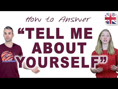 How to Answer 'Tell Me About Yourself' - Spoken English Lesson